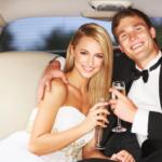 wedding limousine elegant